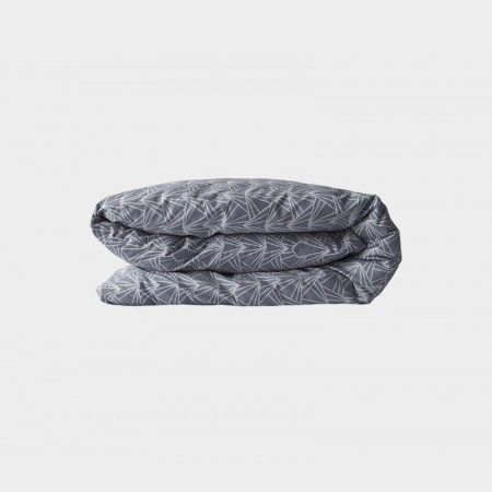Duvet Cover in Cloudy Grey