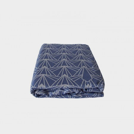 Fitted Sheet in Blue Sky