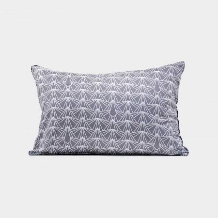 Pillowcase in Cloudy Grey