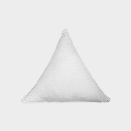 Triangle Pillow White