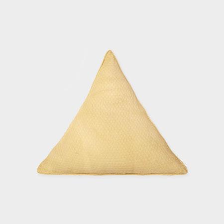 Triangle Pillow Turmeric
