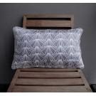 Long Pillow in Cloudy Grey