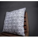 Square Pillow in Cloudy Grey