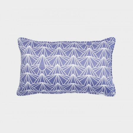 Long Pillow in Blue Sky